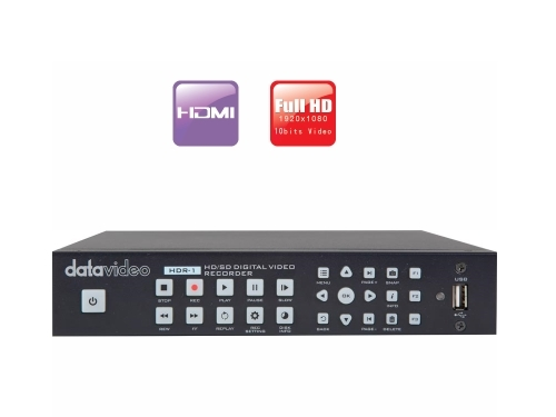 Datavideo HDR-1 Standalone H.264 Recorder and Player - rejestrator, odtwarzacz, HDMI Datavideo HDR-1 Standalone H.264 Recorder and Player