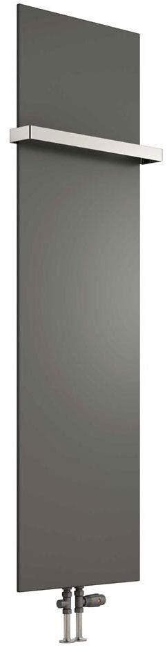 Grzejnik łazienkowy dekoracyjny SLIMLINE - antracyt 300/1170 mm