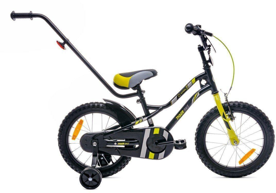 Rowerek Tiger Bike 16 cali z popychaczem