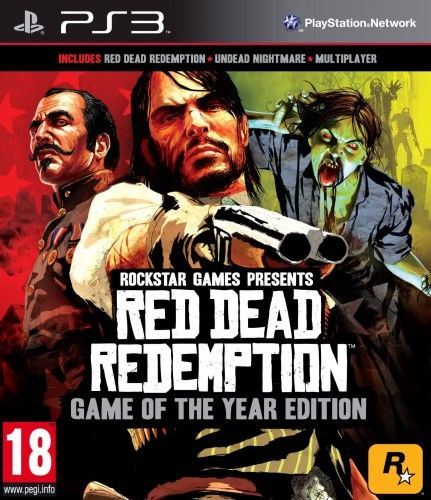 Red Dead Redemption GOTY PS 3