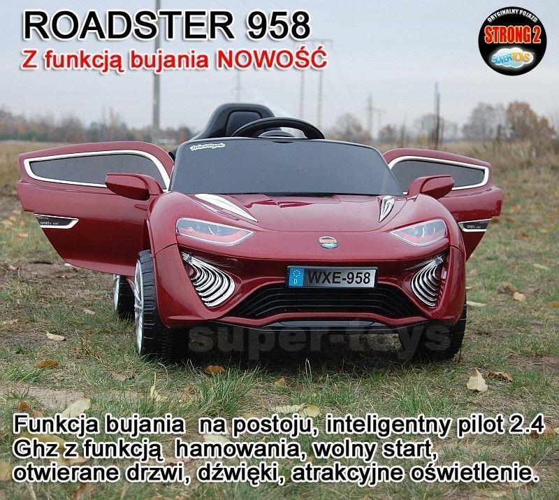NAJNOWSZY ROADSTER 958 Z FUNKCJĄ BUJANIA/958