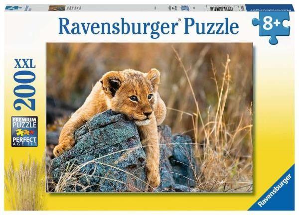 Ravensburger - Puzzle Mały lew 200 elem. 129461