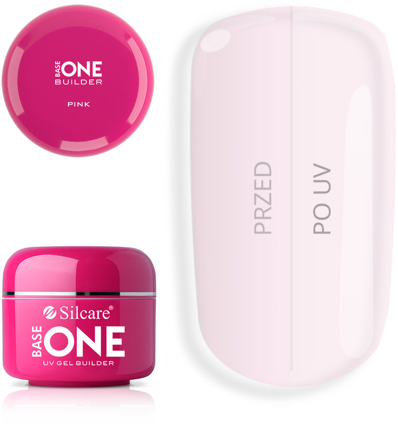 Base One Żel UV Pink 50 g