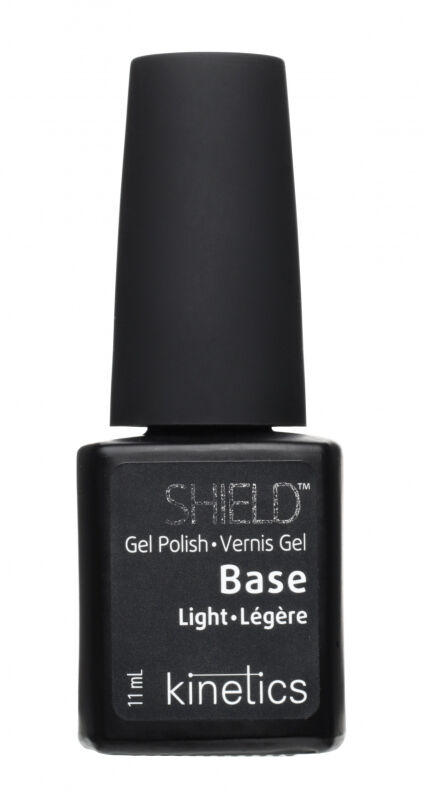 Kinetics - SHIELD Gel Polish Base Light - Baza pod lakier hybrydowy