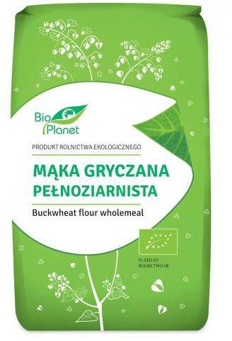 Mąka gryczana pełnoziarnista BIO 500 g Bio Planet