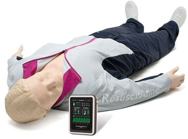 Resusci Anne QCPR AED Full Body Rechargeable (waliza na kółkach)