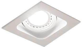 Lampa do zabudowania K/G Mistic QUAD QR111 Matt White G53 12V MSTC-05355530 - Mistic Lighting - SPRAWDŹ RABATY 5-10-15-20 % w koszyku