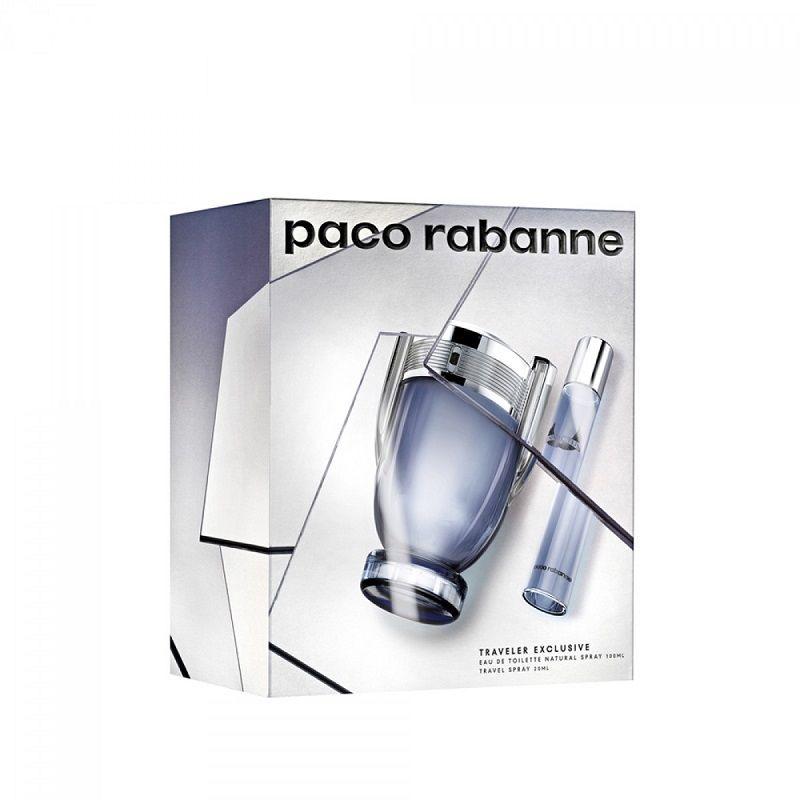 Paco Rabanne Invictus miniaturka 20ml + woda toaletowa - 100ml