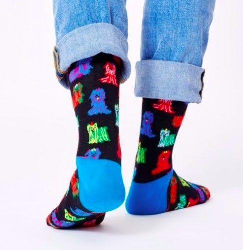 Happy Socks skarpetki SDOG01-9302 r.36-40 PSY Terier