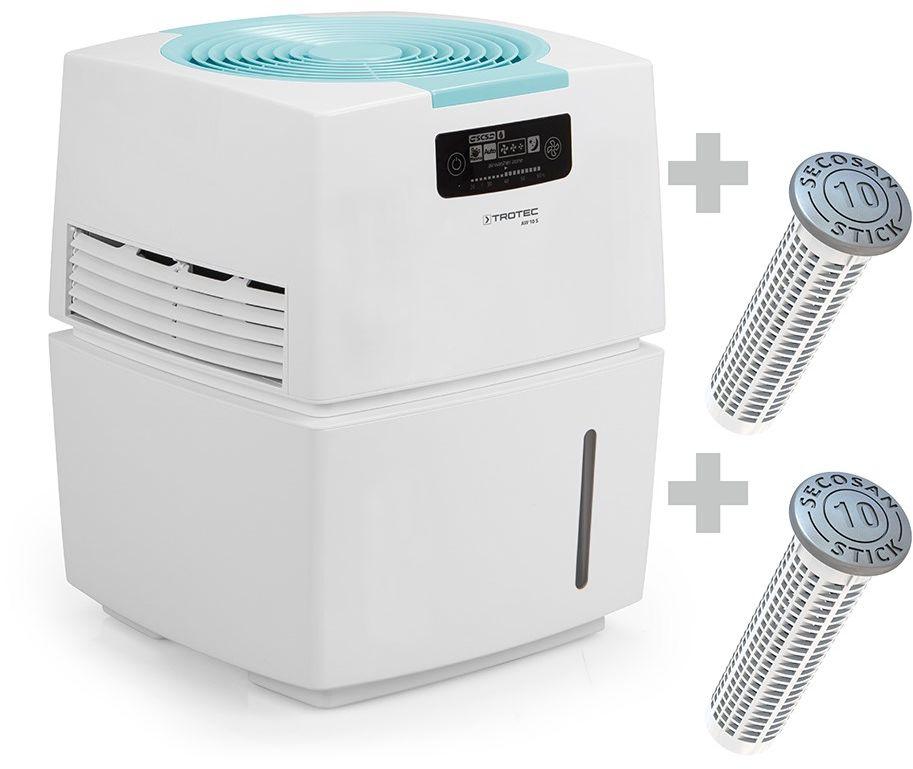Nawilżacz oczyszczacz powietrza / Airwasher AW 10 S + 2 SecoSan Stick 10
