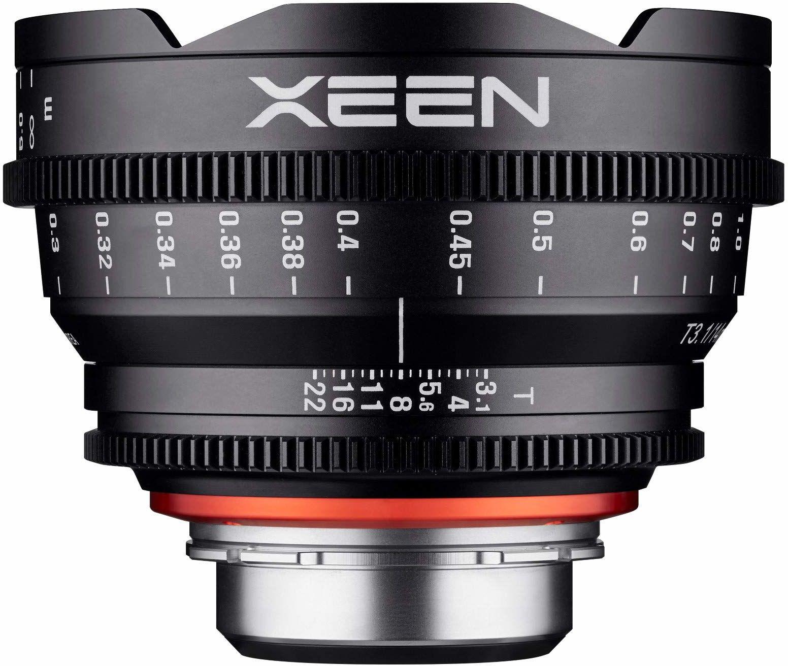 Xeen 15014T3.1SE T3.1 Cine obiektyw, złącze E, 14 mm, czarny