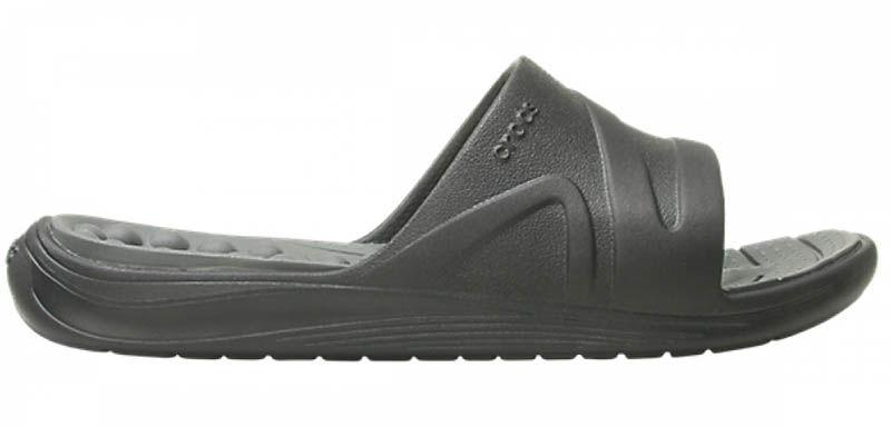 Klapki męskie Crocs Reviva Slide czarne2055460DD