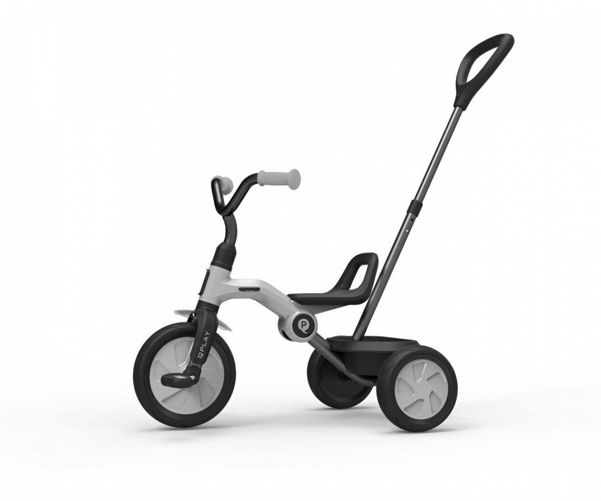 Qplay Rowerek Trójkołowy Ant Plus Grey