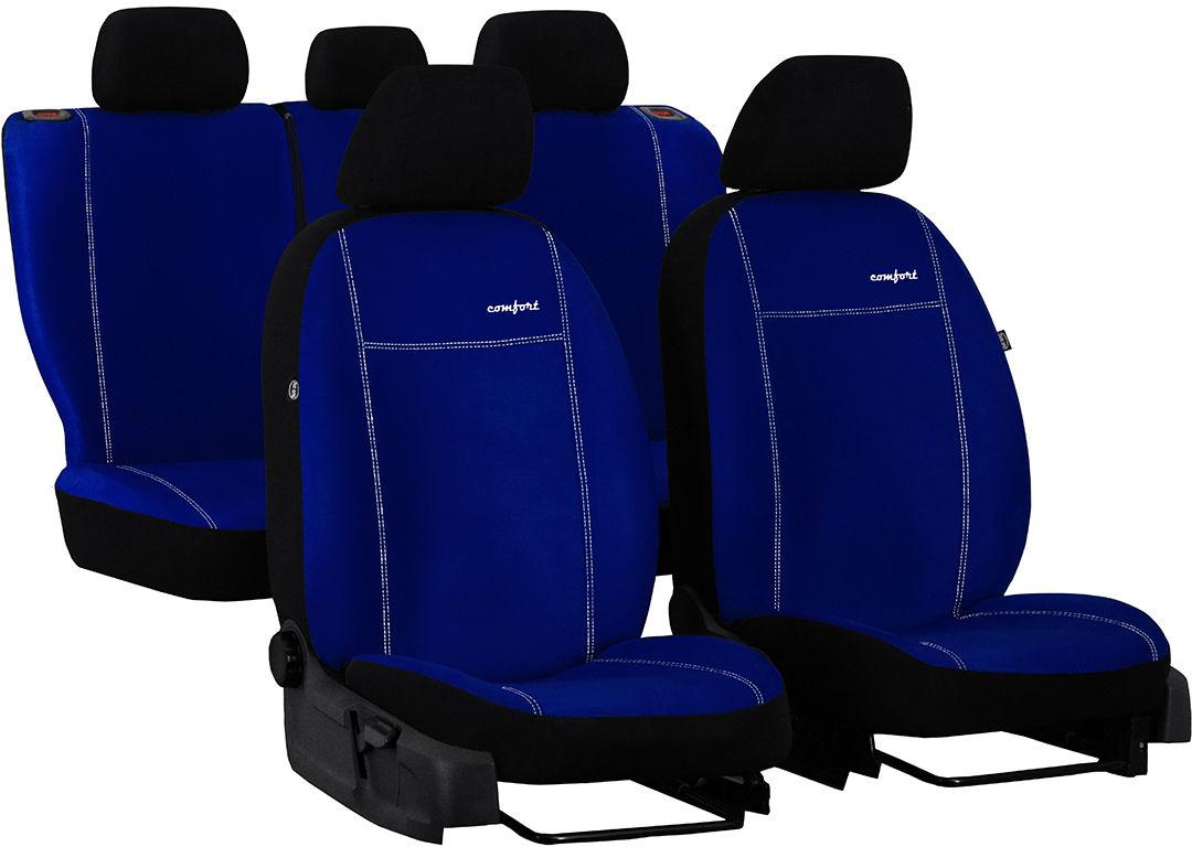 Pokrowce samochodowe do Ford Fusion van, Comfort, kolor niebieski