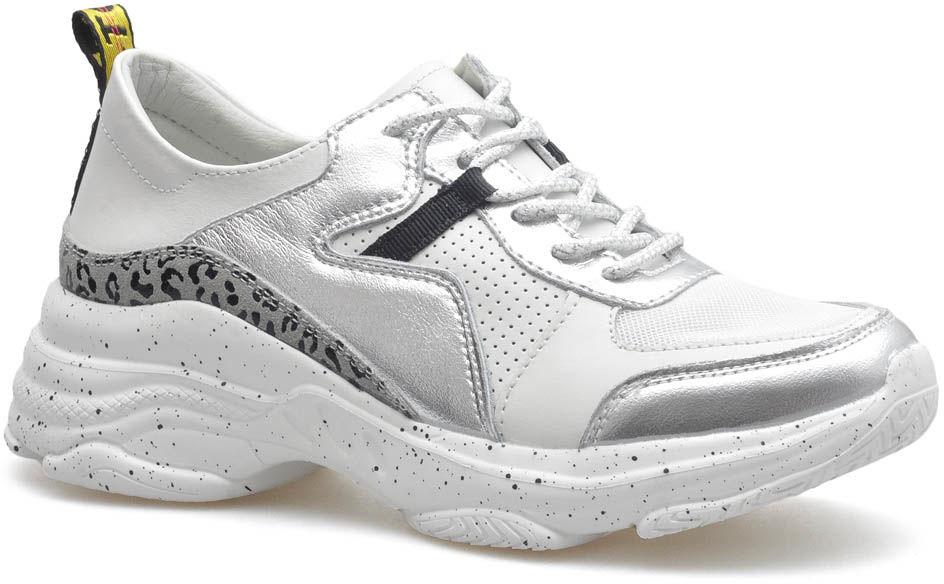 Sneakersy T.Sokolski FLYW20-05 Białe/Srebrne lico
