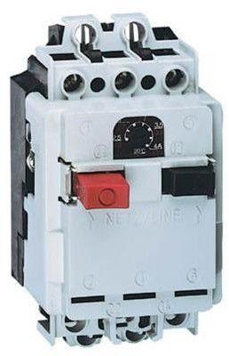 Wyłącznik silnikowy 3P 4kW 6,3-10A M 611 N 10 6112-420001