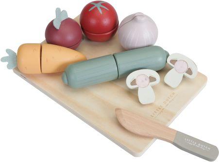 Deska do krojenia z warzywami kuchnia Little Dutch