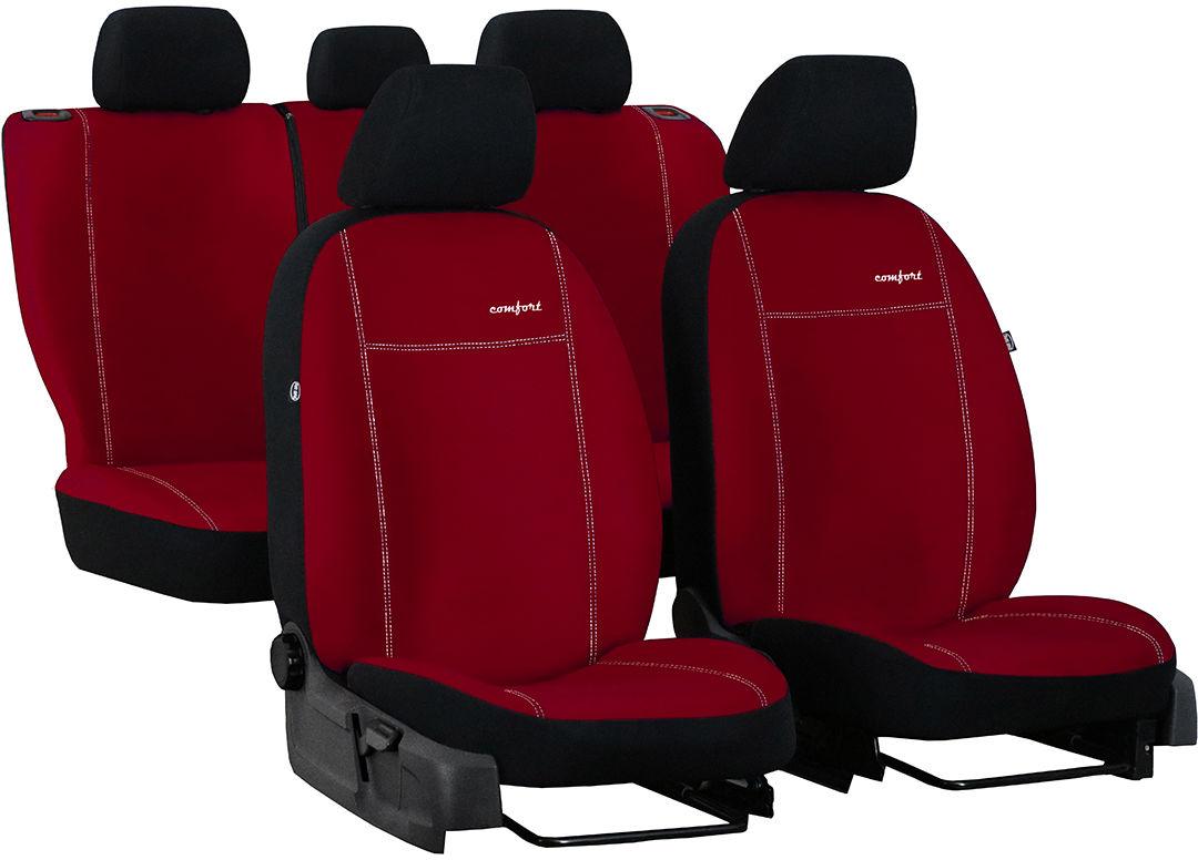 Pokrowce samochodowe do Ford Fusion van, Comfort, kolor czerwony