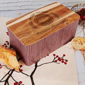 Pyszny chlebek - Chlebak z grawerem