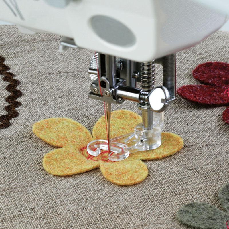 Stopka do pikowania, haftowania i cerowania do maszyn z chwytaczem rotacyjnym