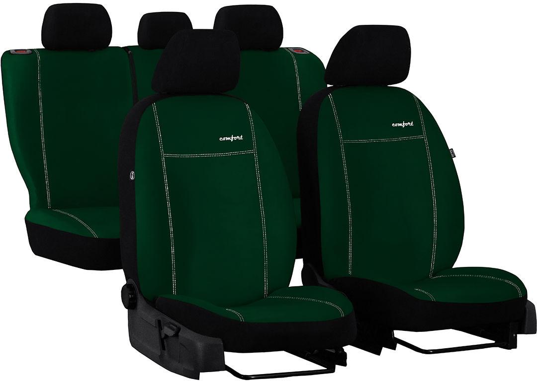 Pokrowce samochodowe do Ford Fusion van, Comfort, kolor zielony