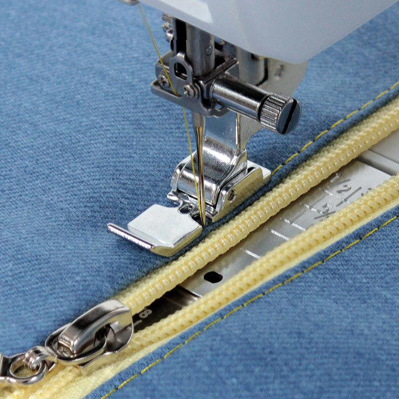 Stopka do wszywania zamków (pasuje do maszyn z szerokością ściegów 9mm)