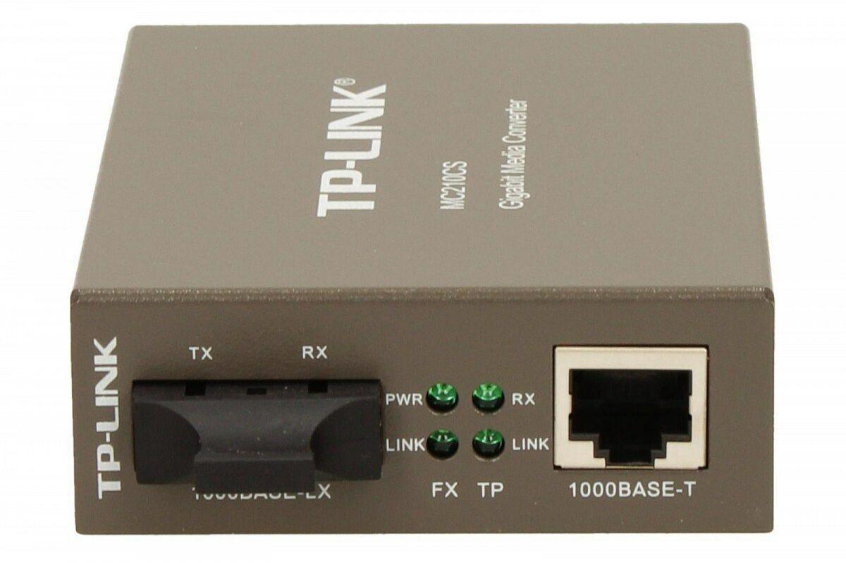 TP-LINK MC210CS media konwerter 1GBE Single-mode