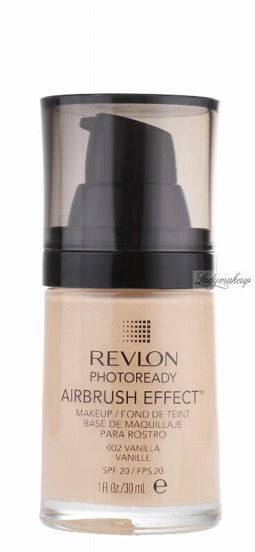 Revlon - PHOTOREADY/ AIRBRUSH EFFECT - Podkład - 002 Vanilla
