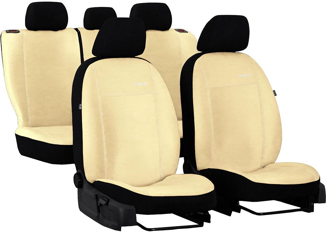 Pokrowce samochodowe do Ford Fusion van, Comfort, kolor beżowy