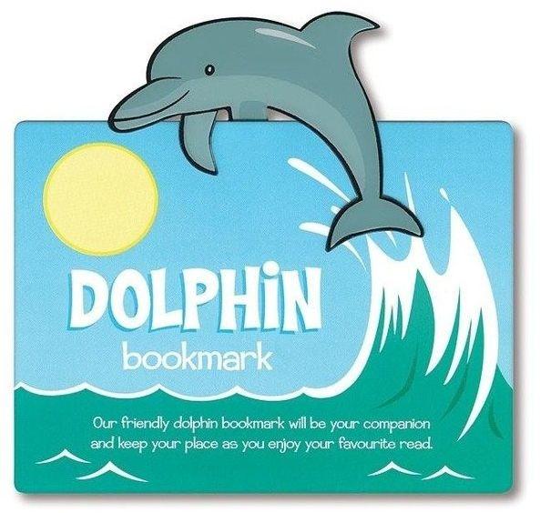 Zwierzęca zakładka do książki - Dolphin - Delfin