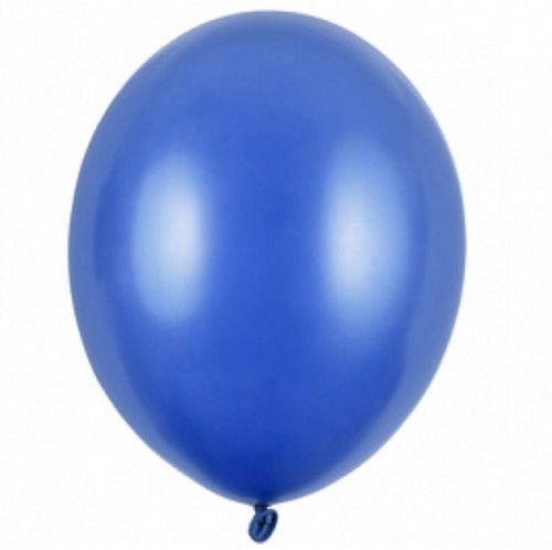 """Balon mały 5"""" niebieski, metaliczny"""