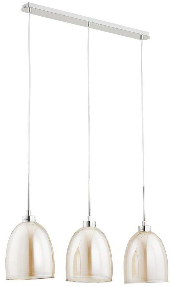Lampa wisząca RONDA herbaciana E27 ALFA