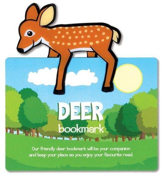 Zwierzęca zakładka do książki - Deer - Jeleń