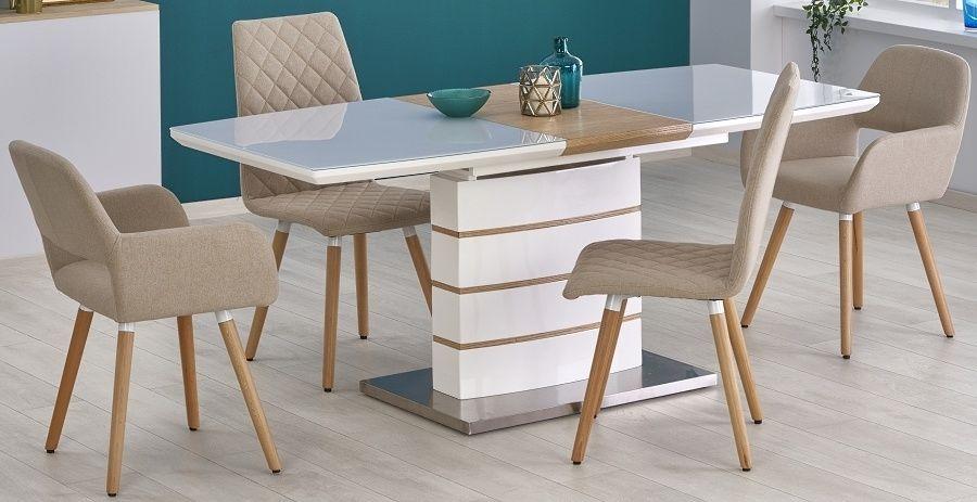Zestaw: stół Toronto i 4 krzesła K282, K283 - 3 kolory