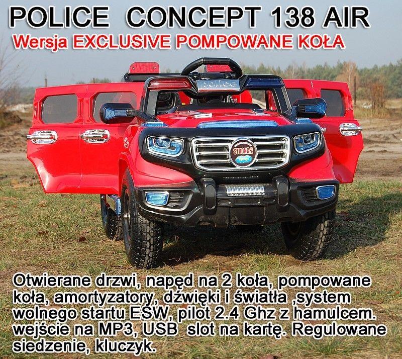 AUTO POLICE CONCEPT 2 OSOBOWE, POMPOWANE KOŁA/138
