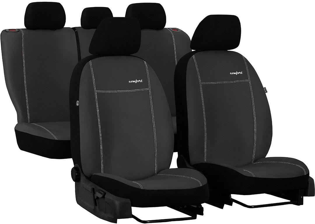 Pokrowce samochodowe do Ford Fusion van, Comfort, kolor ciemnoszary