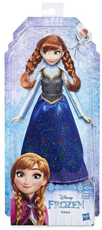 Hasbro Disney Frozen Kraina Lodu II Lalka Anna z zaplataczem E7003