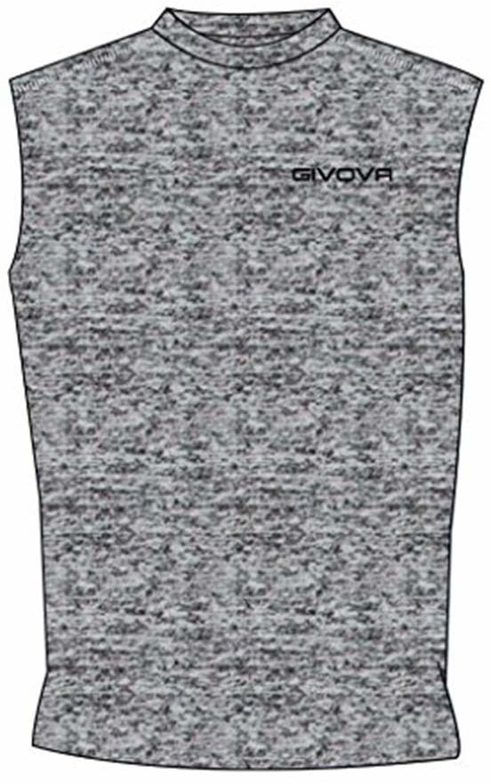 Givova, Corpus 1 elastyczny podkoszulek, szary przezroczysty, L