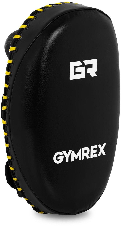 Tarcze bokserskie - Pao - czarne - Gymrex - GR-HT 21R - 3 lata gwarancji/wysyłka w 24h