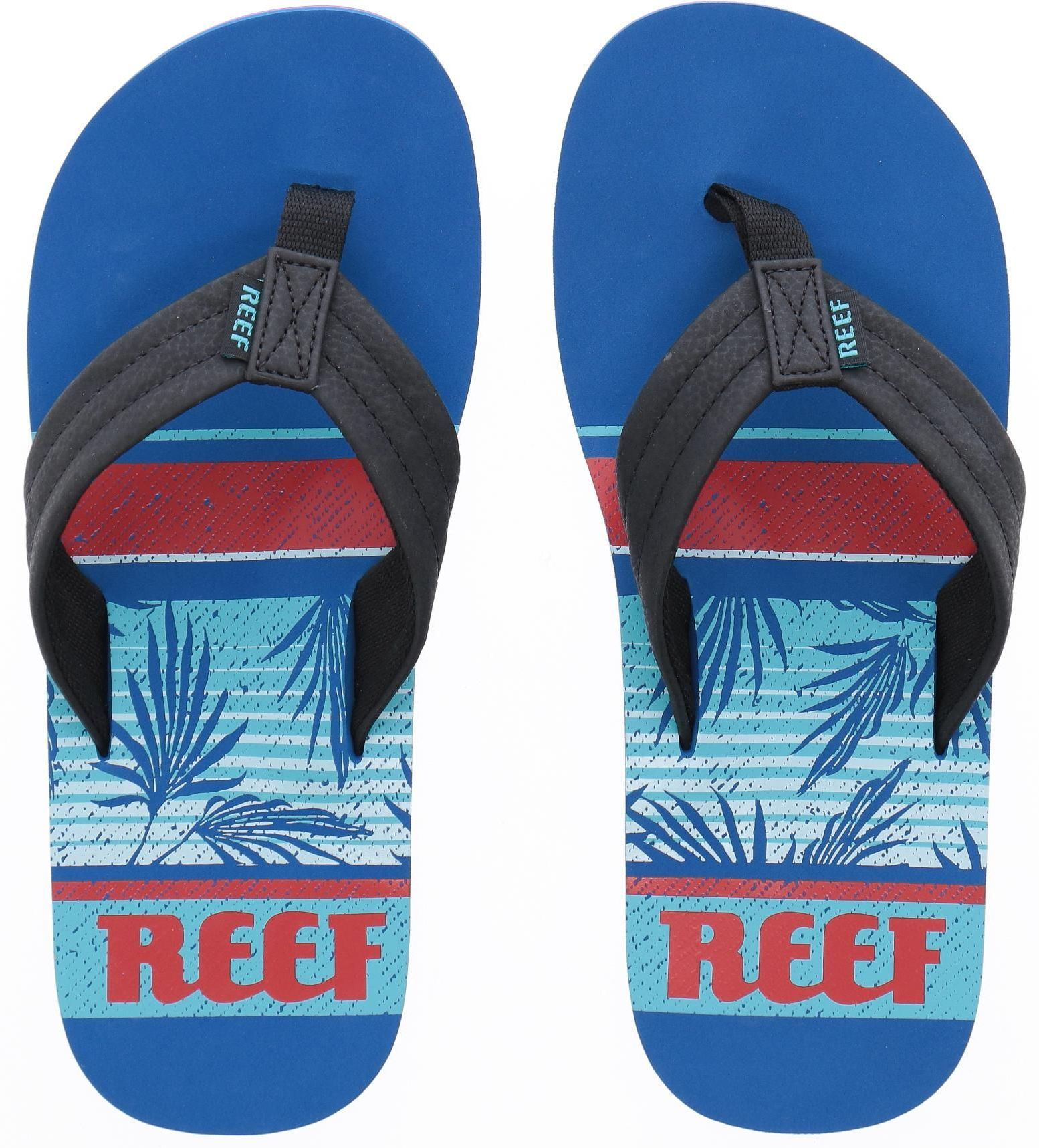 japonki męskie REEF WATERS Blue Palm