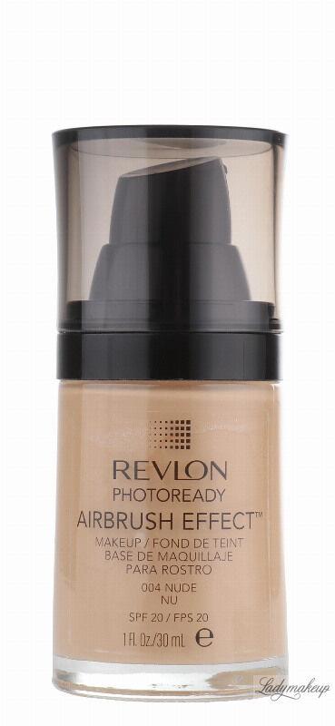 Revlon - PHOTOREADY/ AIRBRUSH EFFECT - Podkład - 004 Nude