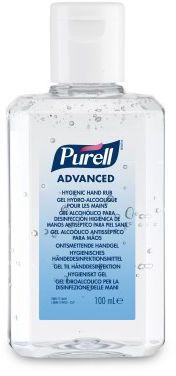 Żel do dezynfekcji rąk PURELL  Advanced Butelka z klapką 100 ml. Dezynfekcja chirurgiczna