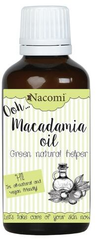 Olej makadamia rafinowany Nacomi ECO 30/50/250 ml