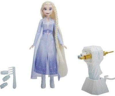 Hasbro Disney Frozen Kraina Lodu II Lalka Elsa z zaplataczem E7002