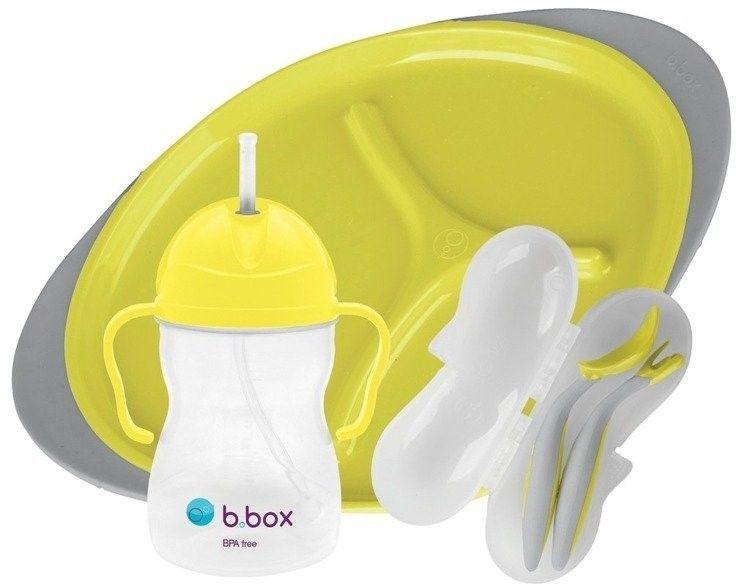 Zestaw do karmienia, Lemon Sherbet, b.box