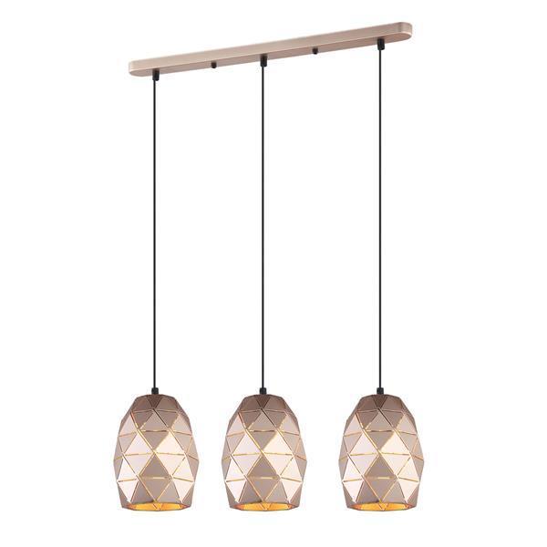 Lampa zwis HARLEY MDM-3480/3 GD - Italux  SPRAWDŹ RABATY  5-10-15-20 % w koszyku