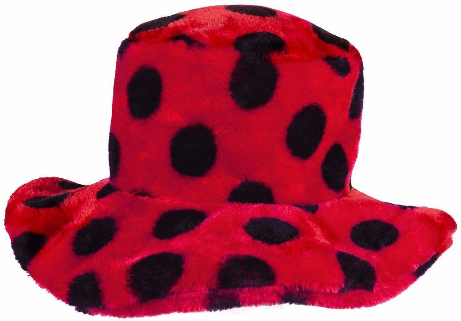 Boland 36051 kapelusz biedronka, unisex  dla dorosłych, czerwony