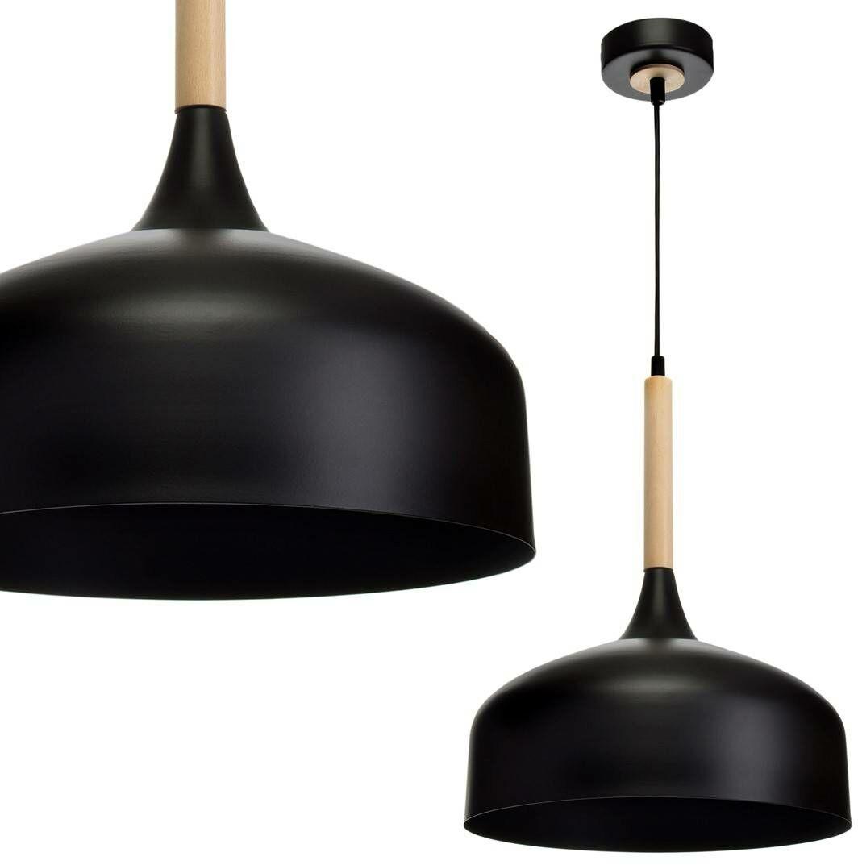 Lampa wisząca TAYLOR BLACK 1xE27 60W