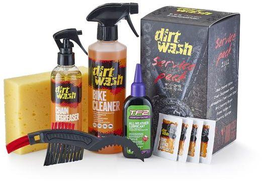 WELDTITE zestaw do czyszczenia i konserwacji roweru dirtwash service pack WLD-03092,5013863030928
