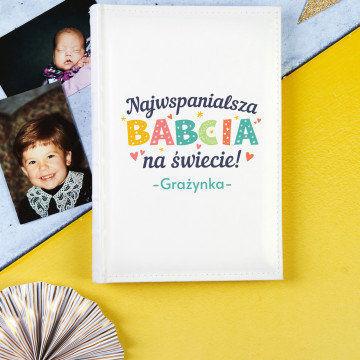 Najwspanialsza babcia - Personalizowany Album na prezent dla babci